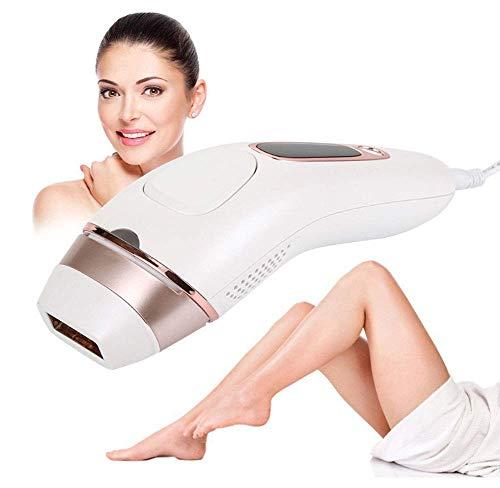 KaysaLY IPL Hair-Rendung leicht aufgelöste Haarentfernung für die Lange Glatte Haut-Incl für Körper, Gesicht, Bikini Zone & Armpits Weiß
