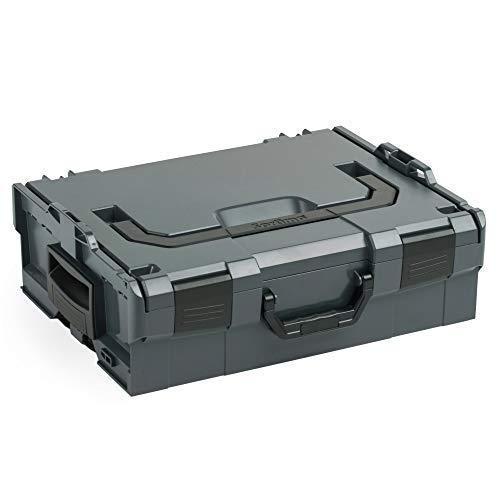 136 | Größe 2 | Professioneller Werkzeugkoffer | Werkzeugkiste leer Kunststoff | Ideale Werkzeug Organizer Box ()