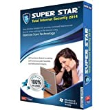 Super Star Total Internt Security 1 PC 1 Year 2014 (Cd|DVD)