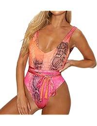 Luckycat Traje De Baño Bikini Mujer Push-up Acolchado Bra Bikini Verano Trajes de baño