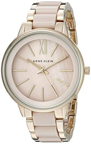 anne-klein-ak-1412bmgb-tono-dorado-de-la-mujer-y-reloj-de-pulsera-de-resina-de-color-rosa-palido