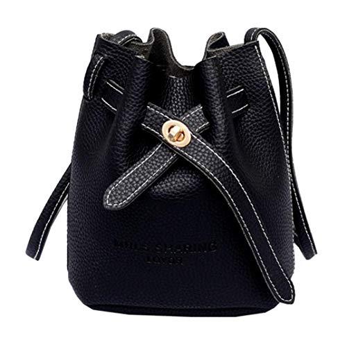 DOGZI Handtasche Damen, Klein Transparente Tasche Rucksack Damen Ledertasche Kleine Frauen Umhängetasche Messenger Satchel Tote Crossbody Handytasche Beuteltasche