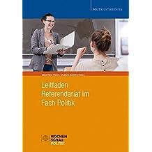 Leitfaden Referendariat im Fach Politik. CD-ROM