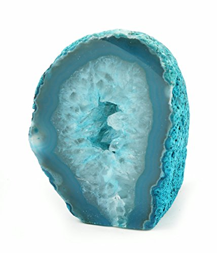 Agate Geode - Green/Teal