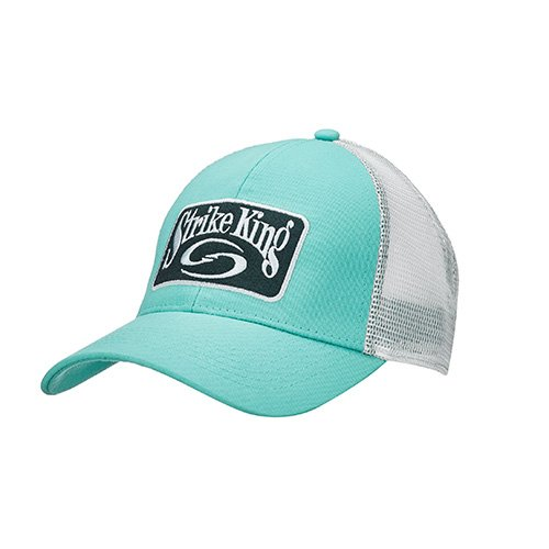 Strike King lockt cap-3 Trucker Cap, Caledon-Body/weiß neon Mesh