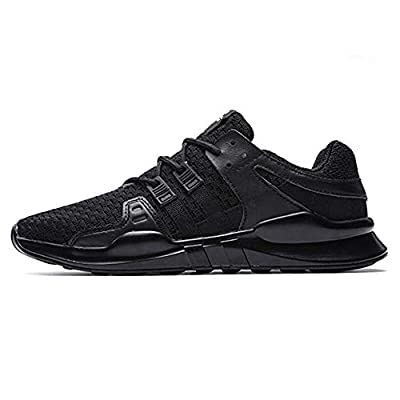 Fushiton Running Shoes Mens Trainers Lightweight Lace Up Breathable Casual Sports Athletic Tennis Walking Shoe for Men