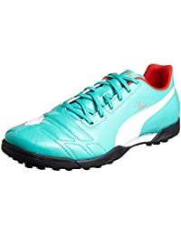 Puma Evopower 1 Fg, Chaussures de football homme - Orange (Pool Green-), 44 EU