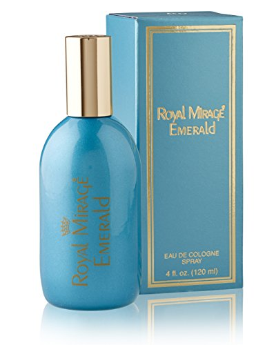 Royal Mirage EMERALD EDC Spray - 120 ml / 4 fl. oz.  available at amazon for Rs.717