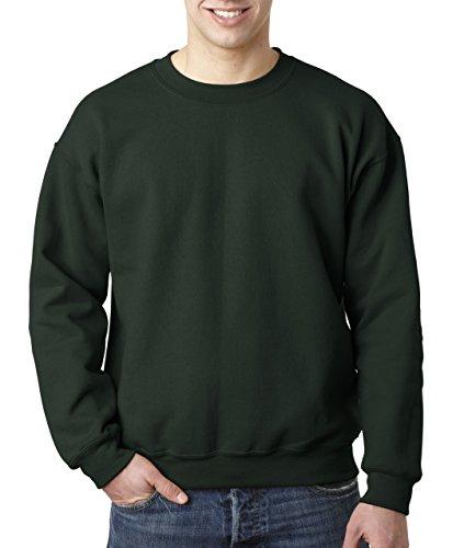 Gildan Heavy Blend Unisex-Erwachsene Crewneck Sweatshirt Gr. XXX-Large, waldgrün (50 Hoch Crewneck)