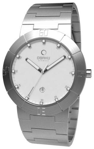 Obaku Harmony - V140GCISC - Montre Homme - Quartz Analogique - Bracelet Acier Inoxydable Argent