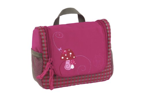 Lässig LMWB128 4Kids Kulturbeutel Mini Washbag Mushroom magenta
