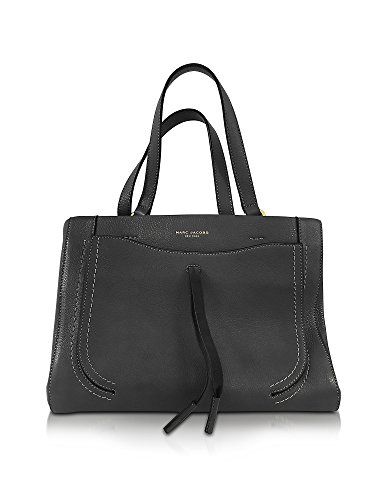 Marc-Jacobs-Womens-M0009543001-Black-Leather-Tote