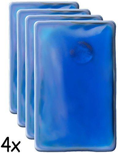 Hometools.eu®, 4cuscinetti termici, scalda-tasche. cuscinetti in gel scalda-mani, auto riscaldanti, a lunga durata, riutilizzabili. 10x 6,5cm. confezione da 4 pezzi