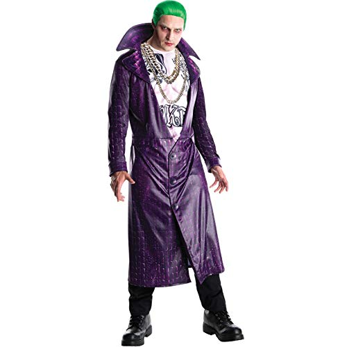 Rubie's 3820116 - The Joker Suicide Squad Deluxe - Adult, Action Dress Ups und Zubehör, One Size Polyester Warm Ups