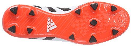 adidas Predator Absolado Instinct FG Herren Fußballschuhe Weiß (Ftwr White/Core Black/Solar Red)