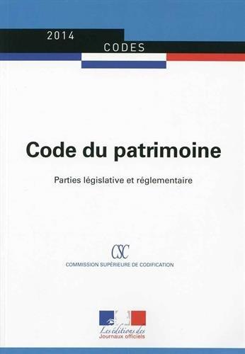 Code du patrimoine par Journaux officiels