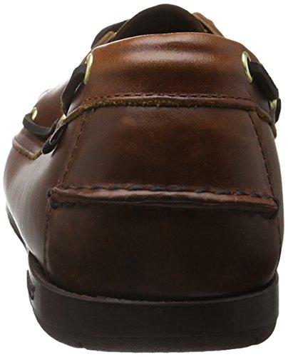 Sebago ENDEAVOR Herren Bootsschuhe Braun (Brown Oiled Waxy Lea)