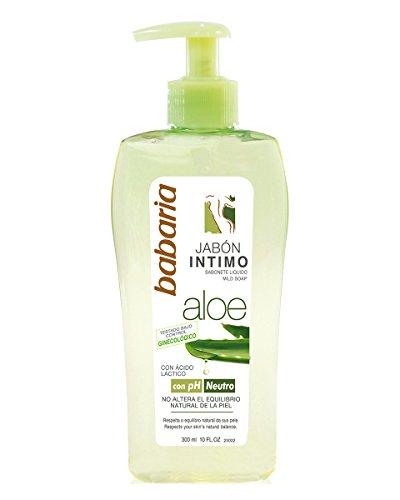Babaria - Jabón intimo Aloe - con pH neutro - 300 ml