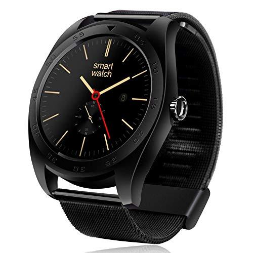 VERYNNA VERYNNA Smart Uhr Heißer Smartwatch Bluetooth 4.0 Pedometer-Herzfrequenz-Monitor Smart Watch mit dreiachsigem Beschleunigungsmesser-Lautsprecher