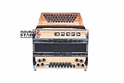 "Steirische Harmonika Alpen Modell ""Riegelahorn"" G C F B"