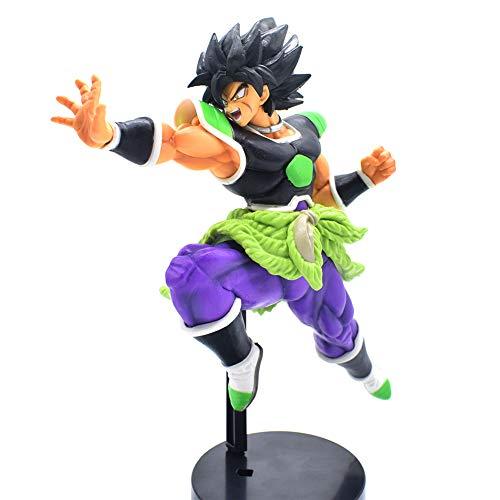 CYRAN Dragon Ball Z Broly Figure Figure Action Anime Super Saiyan Toy for children