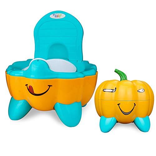 ug, Kürbis-Imitation, Cartoon-Kindersitz, für kleine Toilette, Babysitz, für Kinder und Spielzeugkiste gelb ()