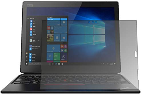 dipos I Blickschutzfolie matt passend für Lenovo ThinkPad X1 Tablet 3. Gen. Sichtschutz-Folie Bildschirm-Schutzfolie Privacy-Filter