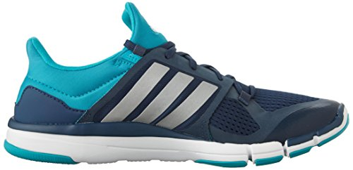 Adidas Performance Adipure 360,3 W Chaussure d'entraînement, noir / gris métallisé / congelé Blue/Metallic Silver/Shock Green