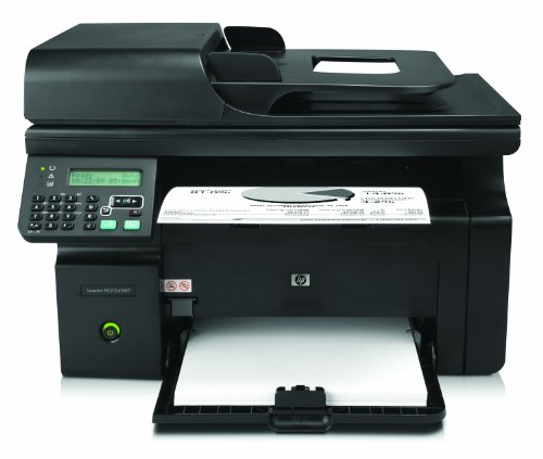 HP LaserJet M1212nf e-All-in-One Mono Laser Multifunktionsdrucker (A4, Drucker, Scanner, Kopierer, Fax,...