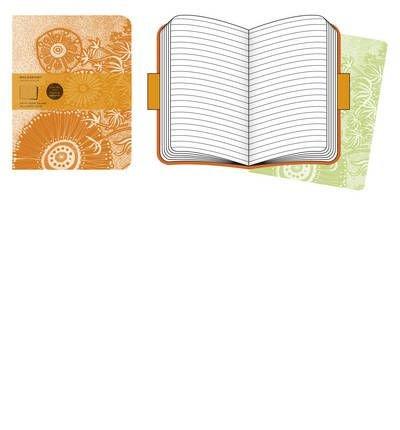 Moleskine Cover Art Flower Fantasy Ruled Journal (Moleskine Legendary Notebooks) (Notebook / blank book) - Common