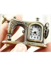 GYwink Reloj de Bolsillo para máquina de Coser, Unisex, para Colgar, Reloj médico