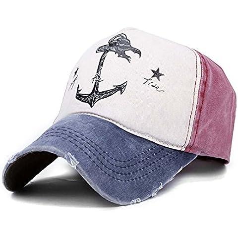 Thenice Baseball Trucker Cap Ajustable Gorra De Béisbol Unisex (Azul marino (Navy))