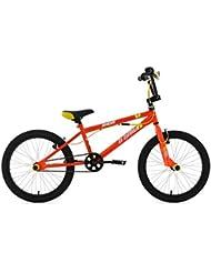 """KS Cycling Hedonic BMX freestyle Jaune 20"""""""