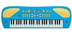 Gru: Mi Villano Favorito Minions-Piano Teclado Electrónico 49 Teclas, Altavoz Integrado, Azul (Lexibook K723DES) Despicable, Color