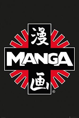 GB eye 61 x 91.5 cm Manga Logo Maxi Poster , Multi-Colour by GB Eye Limited