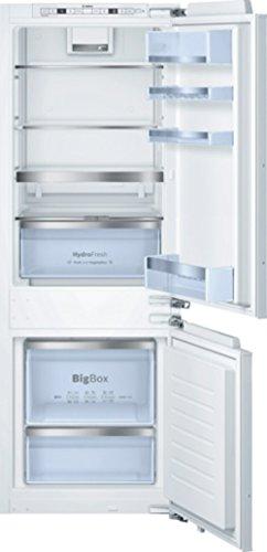 Bosch KIS77AD40 Serie 6 Einbau-Kühl-Gefrier-Kombination  A  157,8 cm Höhe  140 kWhJahr  Urlaubsschaltung  Optischer und akustischer Alarm bei Temperaturanstieg, mit Memory-Funktion