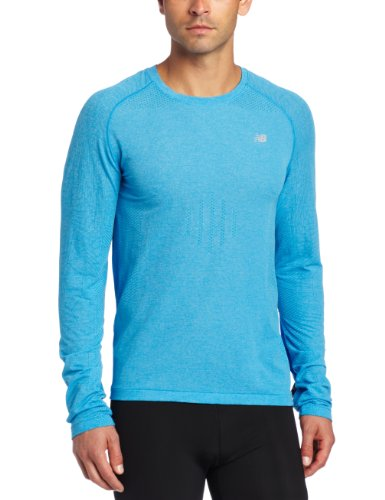 New Balance NBX MRT2303 Minimus T-Shirt à Manches Longues pour Homme Bleu Bleu électrique X-Large