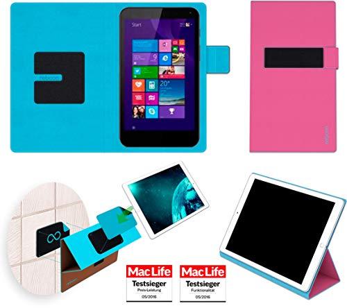 reboon Hülle für HP Stream 7 Tasche Cover Case Bumper | in Pink | Testsieger