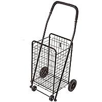 DMI–Carro plegable carrito de la compra, color negro