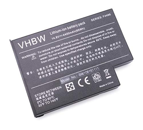 Batterie haute performance 14,8 V 4400 mAh convient pour Maxdata Pro remplace 40002095, CGR-DU07 b18740ae, fpbp57bp, F3410–60911, F4486–60001, F5398–60911, FPCBP57