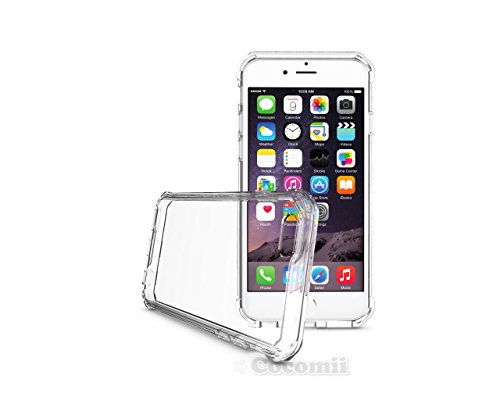 iPhone 6S / 6 Hülle, Cocomii Modern Armor NEW [Crystal Clarity] Premium HD Clear Anti-Scratch Shockproof Hard Bumper Shell [Slim Fit] Full Body Ultra Thin Lightweight Transparent Cover Case Schutzhüll Crystal Clear