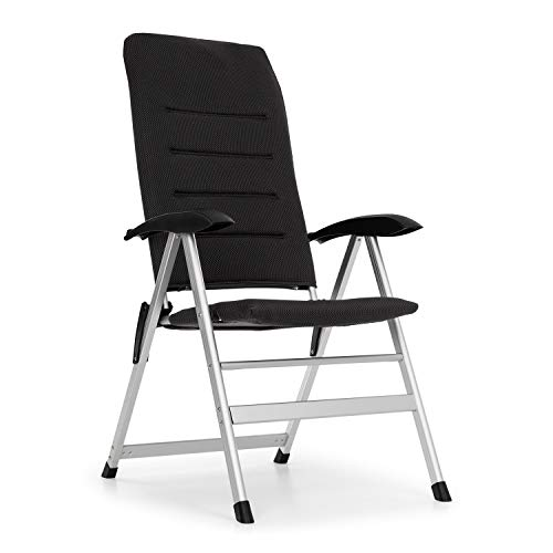 blumfeldt Almagro Garden Chair Gartenstuhl - 6-Fach verstellbare Rückenlehne, Comfort Foa