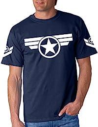 Capitan America Steve Rogers Marvel - Camiseta Manga Corta