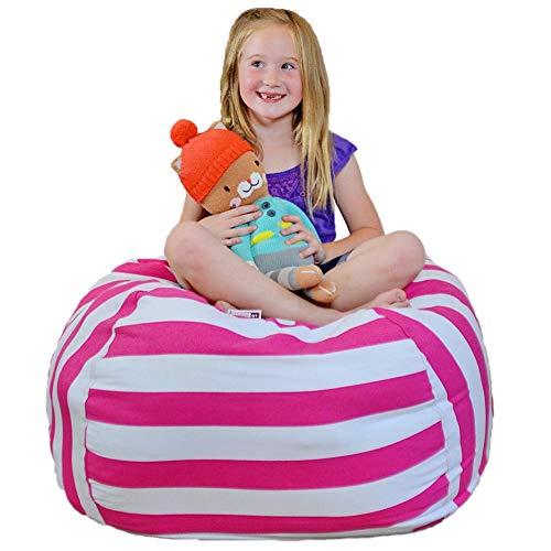 Pveath Toy Storage Bean Bag – Organizador de Juguetes Extragrande de
