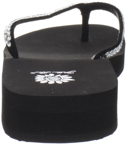 Giallo scatola Jello tanga da donna Nero (nero)