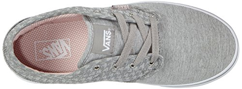Vans ATWOOD Mädchen Sneakers Grau ((Menswear) midgray/white)