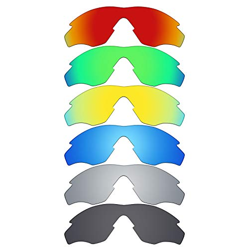 MRY 6Paar Polarisierte Ersatz Lenses für Oakley M2Frame Sonnenbrille