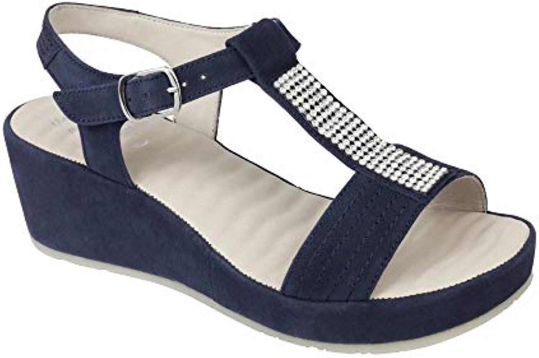 Healt and fashion scarpe scarpe scarpe italia spa Scholl Dr Catelyn Pelle Scamosciata Navy blu  Strass 38 …   Online Store    Uomo/Donne Scarpa  c8dc40