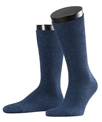 ESPRIT Herren Socken Easy Double Pack Blau (Navy Meliert 6127), 39/42