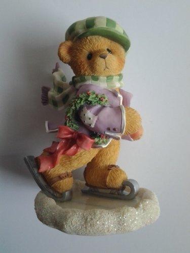 Cherished Teddies ADAM, Its A Holiday On Ice Boy Ice Skating Figurine by Cherished Teddies